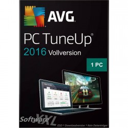 AVG PC TuneUp 2016 [1 Lizenz, Download]