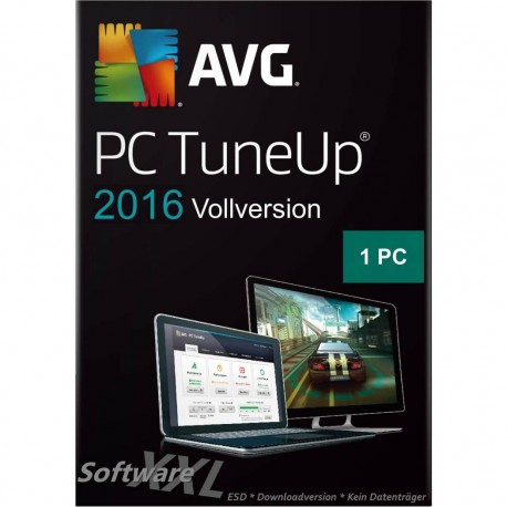AVG PC TuneUp 2016 [1 Lizenz, Download]