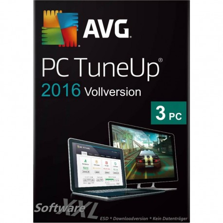 AVG PC TuneUp 2016 [3 PC, Download]