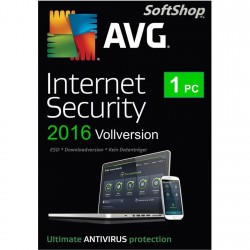 AVG Internet Security 2016 [1 PC, Download]