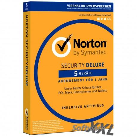 Norton Security Deluxe v3.0 [5 PC/Geräte, Download]