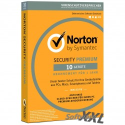Norton Security Premium 2016 [10 Device, Download]