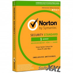 Norton Security - Standard 2016 [1 PC/Gerät, Download]