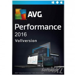 AVG Performance Pro 2016 [1 year, Download]