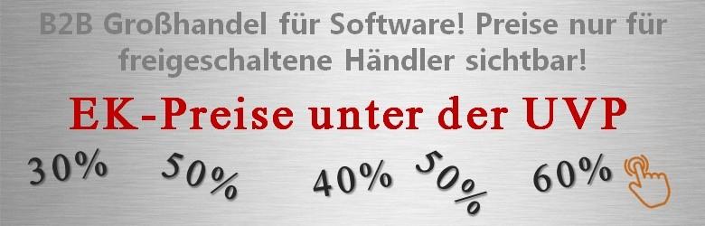 SoftwareXXL Software Einkaufspreise bis zu 60% unter der UVP