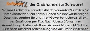 B2B SoftwareXXL - Händler Anmeldung
